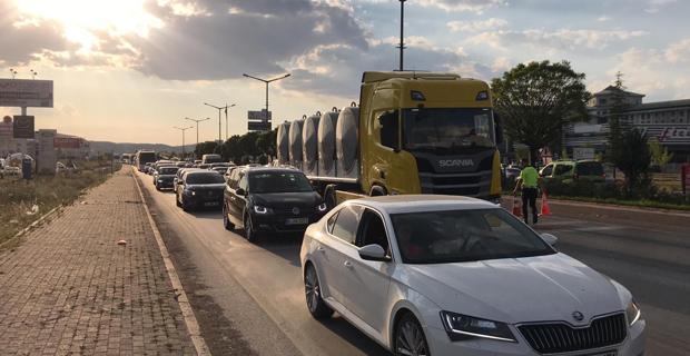 5 araçlı zincirleme trafik kazası: 4 yaralı