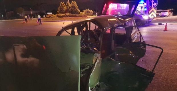 Afyonkarahisar'da trafik kazası, 4 yaralı