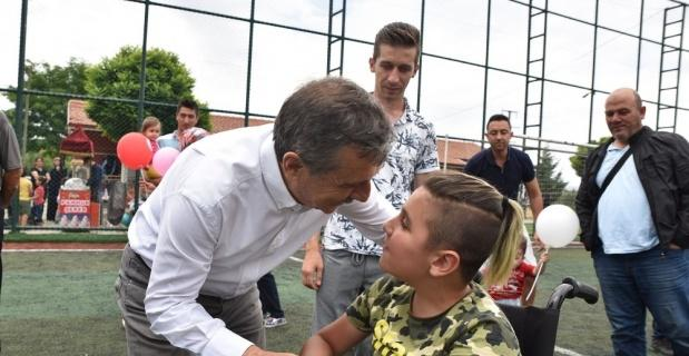 Başkan Ataç çocuk ve yaz şenliğinde