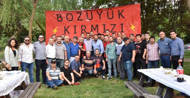 Bozüyük Eskişehirspor taraftarı piknikte buluştu