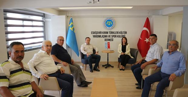 Günay Kırım Derneği yöneticilerini ziyaret etti