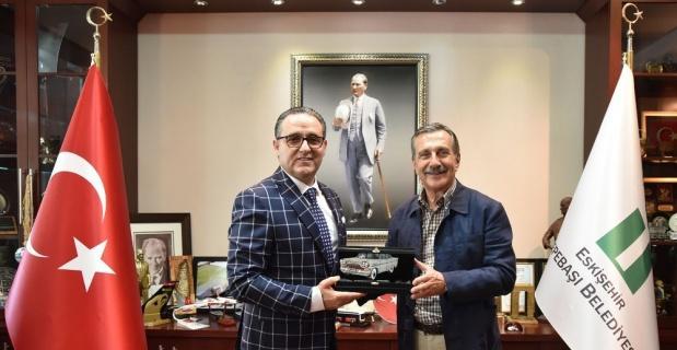 KKTC Başkonsolosundan Başkan Ataç'a ziyaret