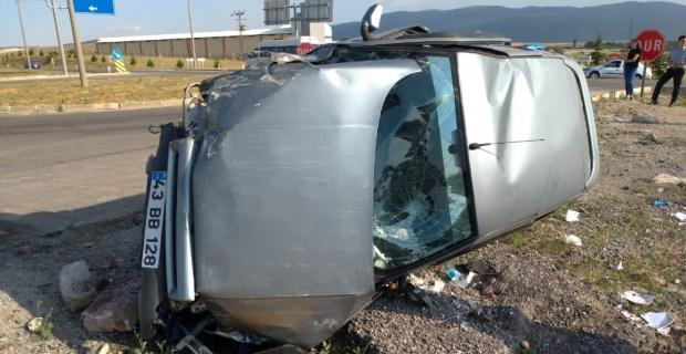 Kütahya'da trafik kazası:  4 yaralı