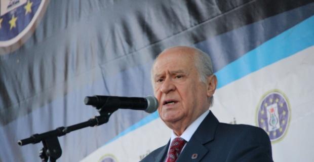 MHP lideri Bahçeli Kütahya'da