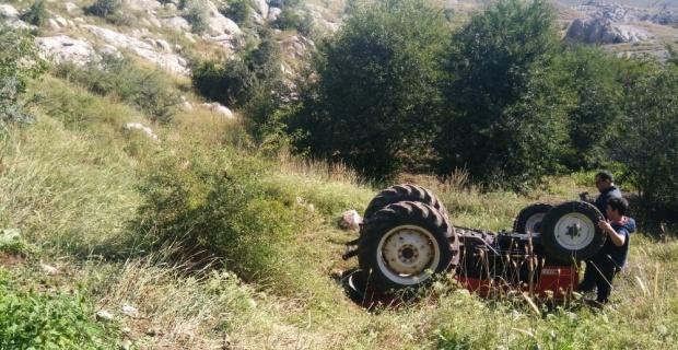 Kahreden kaza: 1 ölü, 1 yaralı