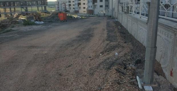 Vatandaş asfalt bekliyor