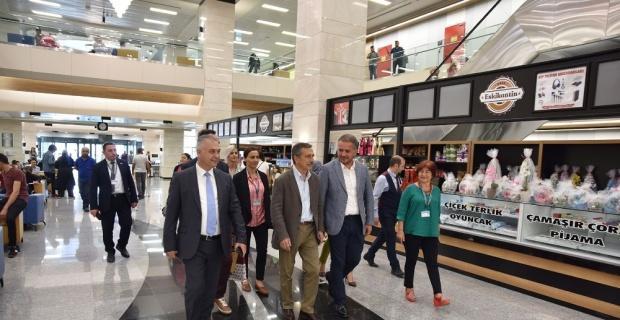 Başkan Ataç Şehir Hastanesi'ni ziyaret etti