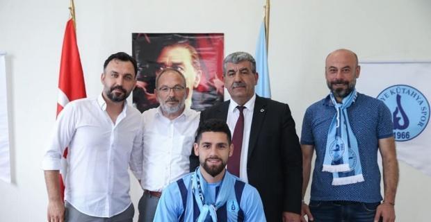 Belediye Kütahyaspor'da Enes Nalbantoğlu yuvaya geri döndü
