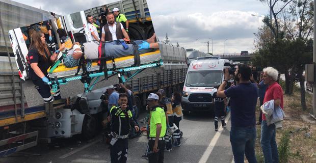 Eskişehir'de zincirleme trafik kazası
