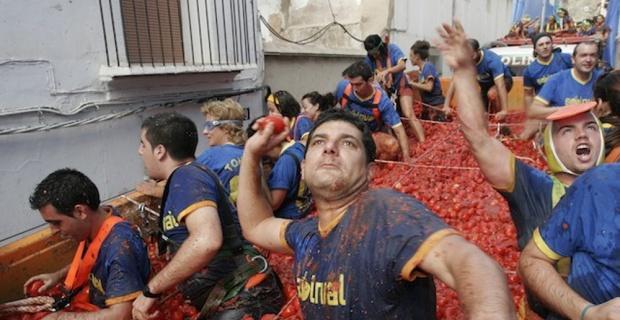 İspanya'da domates savaşı başladı