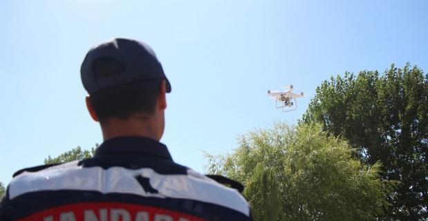 Dronlu trafik ve asayiş denetimi