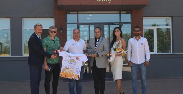 Şahbaz'dan Baranselspor'a tam destek