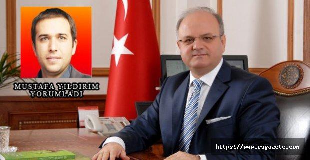 Sayın Vali Çakacak'a Eskişehirspor çağrım