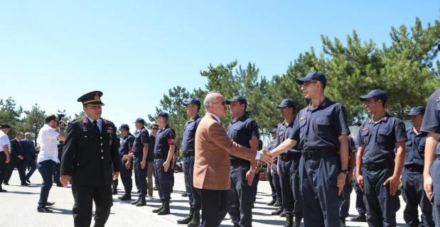 Güvenlik güçlerinin bayramını kutladı