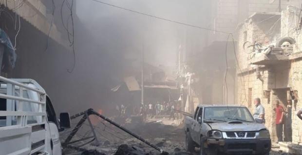 Afrin'de patlama: 2 ölü