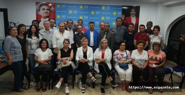 İYİ Parti Odunpazarı'nda görev bölümü yapıldı