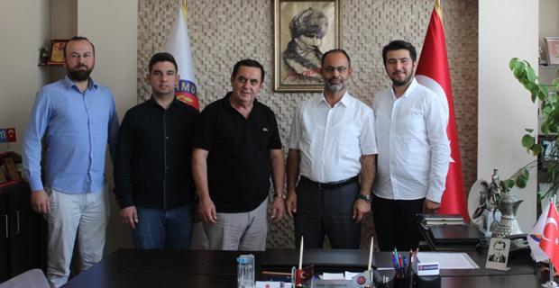 MÜSİAD Gündoğan'ı ziyaret etti
