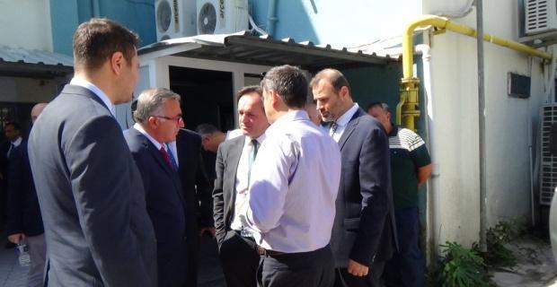 TCDD Genel Müdürü Uygun, Bilecik'te acılı ailelere başsağlığı diledi