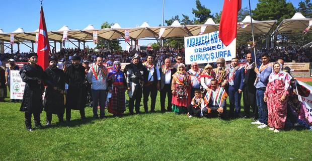 Yörük ve Türkmenler Yörük Şenliklerine katıldı