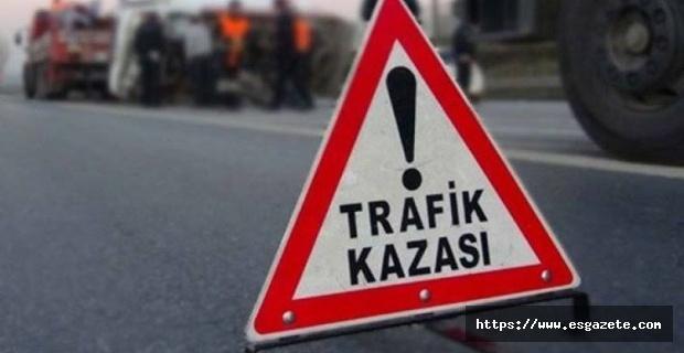Eskişehir'de trafik kazası, 1 ölü