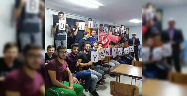 KYK öğrencilerinden 'Barış Pınarı Harekatı'na' tam destek