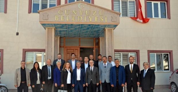 MHP İl Başkanı Candemir'den Başkan Durgut'a ziyaret