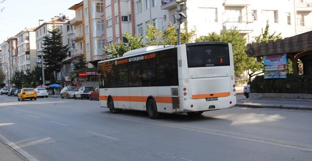 Otobüs sürücüleri zaman darlığı ve trafik yoğunluğundan şikayetçi