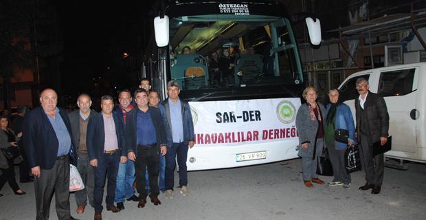 Sarıkavak derneği üyeleri ve dostları Antalya'da