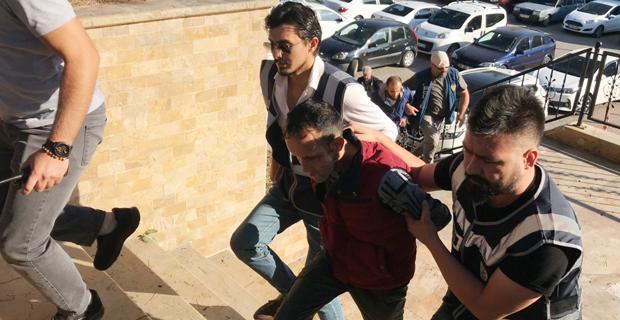 Yüz naklini geçiren Recep Serttutuklandı