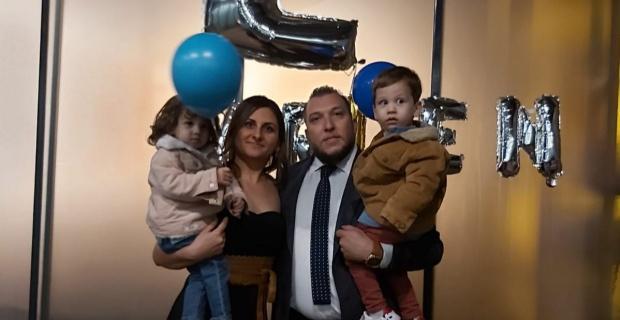 Ayhan ailesinin mutlu günü