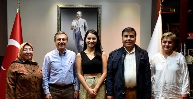 Başkan Ataç'tan başarılı gence tebrik