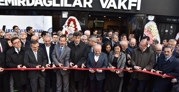 Emirdağlılar Vakfı yeni hizmet binası açıldı