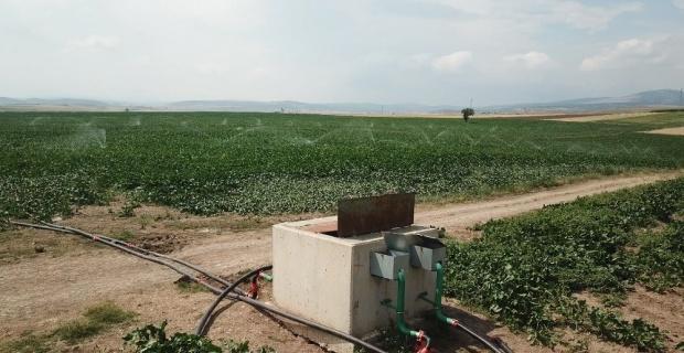 266 bin 928 dekar tarım arazisi sulandı