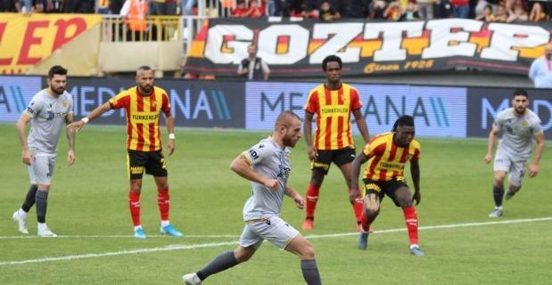 Göztepe ile Yeni Malatyaspor ile 1-1 berabere kaldı