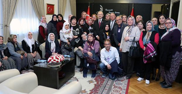 Kılıçdaroğlu Mihalgazilileri ağırladı