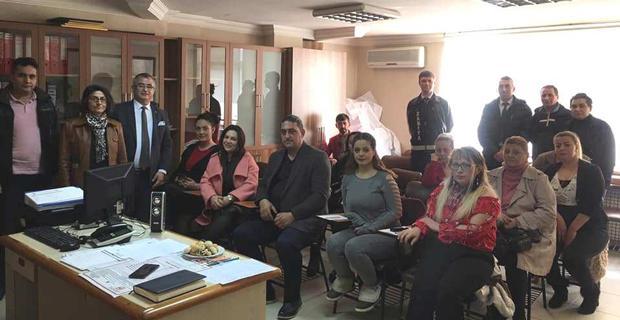 Masaj salonları sorumluları ile toplantı yapıldı