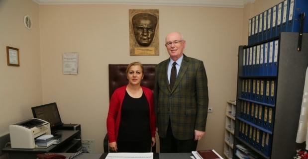 Odunpazarı Belediye Başkanı Kazım Kurt'tan muhtar ziyareti