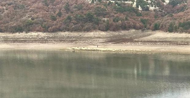 Porsuk barajında tehlike çanları