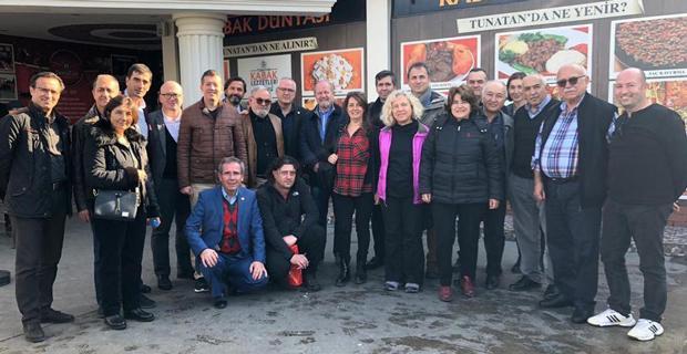 Rumelili iş insanları Makedonya'da