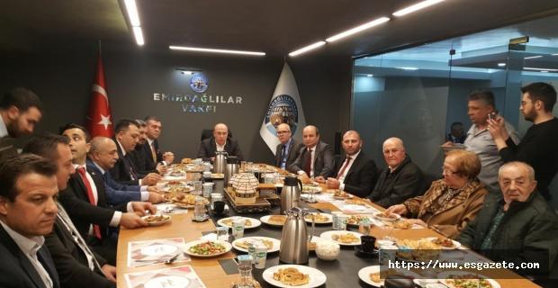 Yönter'den Emirdağlılar Vakfına ziyaret