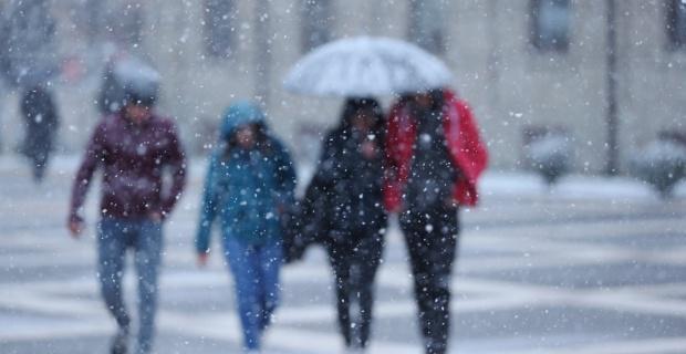 Çarşamba kuvvetli kar yağışı geliyor