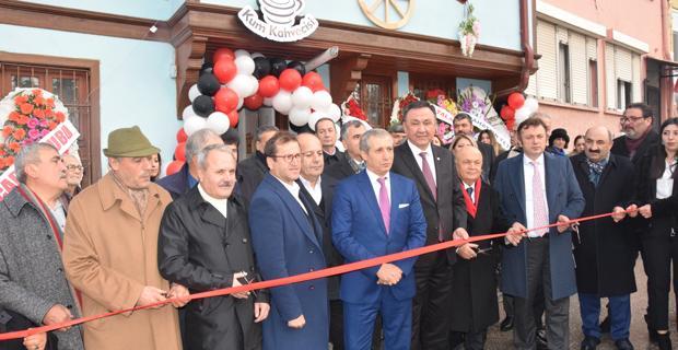 Cengiz Aytmatov Müze/Cafe açıldı