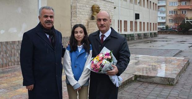 Cırıt, Ahmet Sezer Ortaokulu'nu Ziyaret Etti