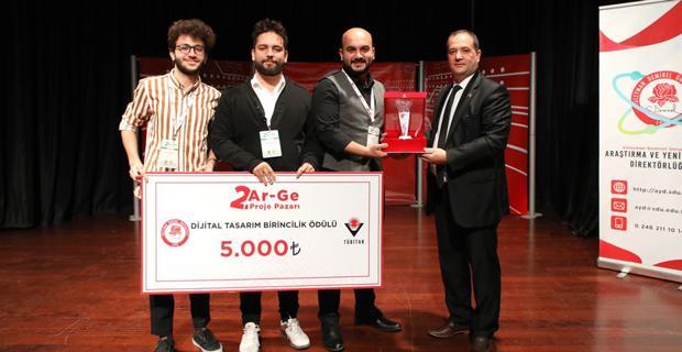 Eskişehir Teknik Üniversitesi birincilik ödülünü aldı