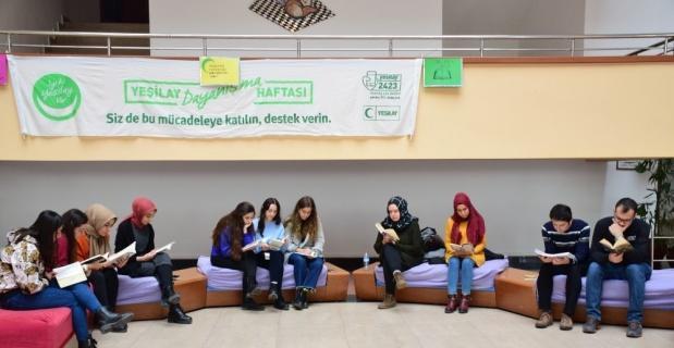 Genç Yeşilay Kulübü teknoloji bağımlılığına dikkat çekti