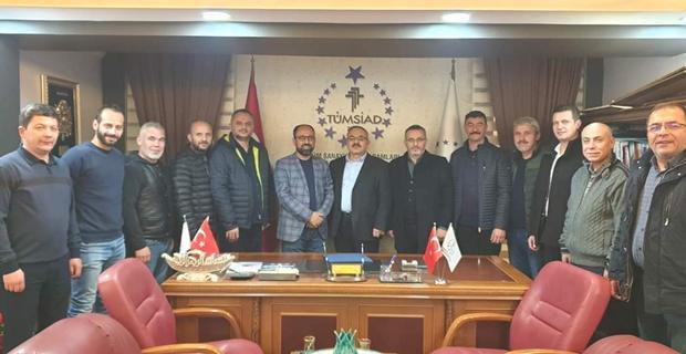 Kahramanmaraş Tümsiad, Eskişehir Tümsiad'ı Ziyaret Etti