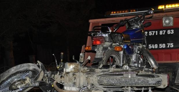 (özel) Jandarma ve polisle motosiklet hırsızları arasında saatler süren kovalamaca