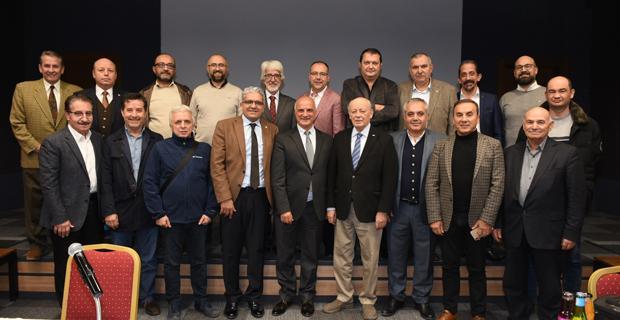 Sanayi Konseyi Ekonomist Baydar'ı ağırladı