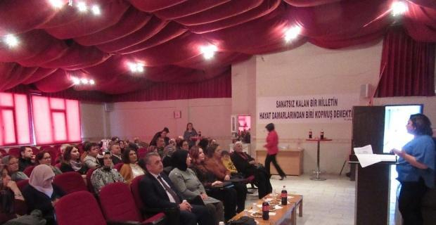 Sandıklı'da 'Perde Güçlü Kadınlar İçin Açılıyor' projesi