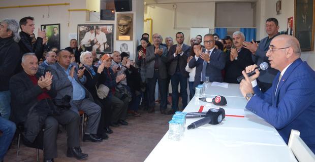 Rahmi Çınar adaylığını açıkladı